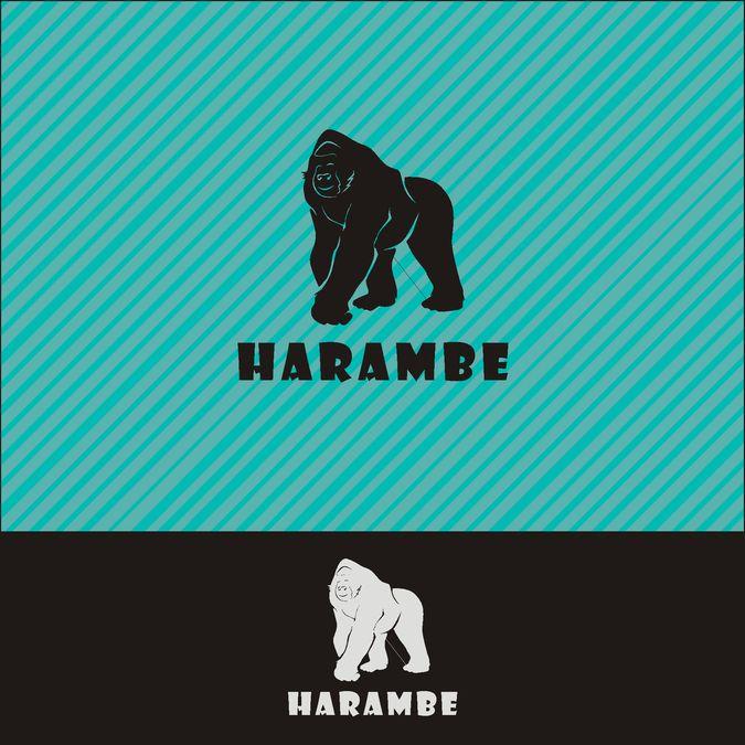 Harambe by Villoppy