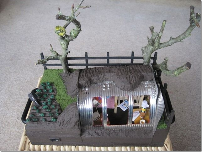 anderson shelter model - Google Search