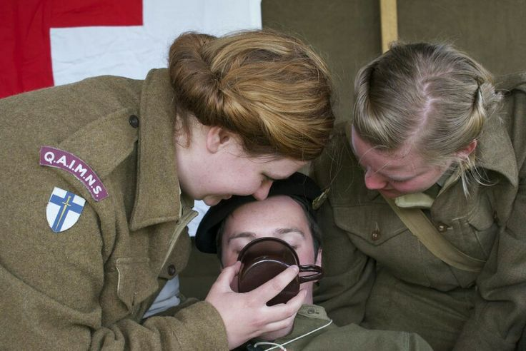 Queen alexandra's imperial military nursing service reserve Re-eanactment.