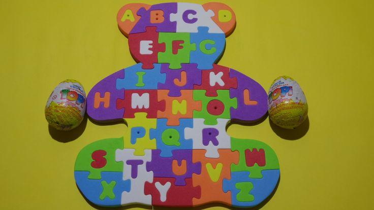 ABC Puzzle - Education Alphabet Puzzle - Beer Puzzle