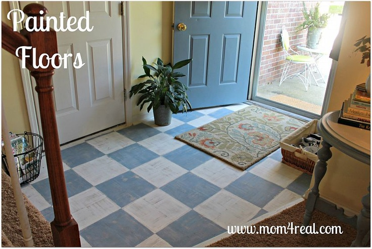 diy painted floorPainted Wood, Decor Ideas, Country Living Magazines, Painting Floors, Painting Wood Floors, Floors Design, Diy, Parquet Floors, Floors Country