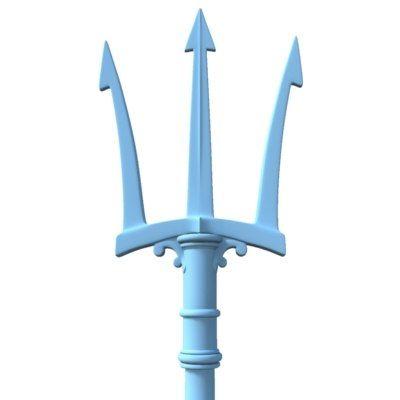 Trident Neptune 3D Model - 3D Model