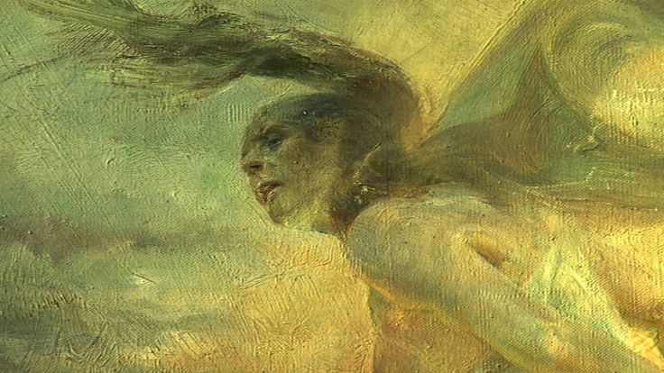 Jacek Malczewski (Polish,1854 - 1929) The Dust Storm (detail), The National Museum, Poznań.