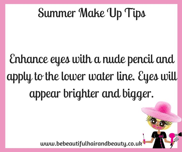 Summer Make-Up Tip #7