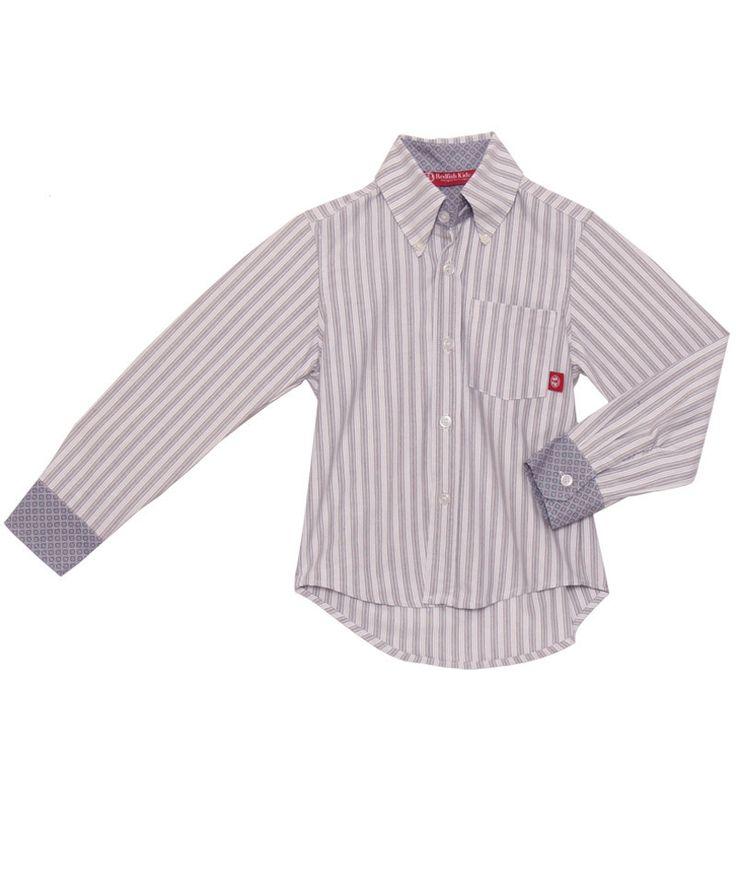 Oxford Dress Shirt Oliver – Redfish Kids
