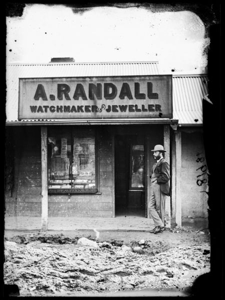 A. Randall, watchmaker & jeweller, Hill End, 1872
