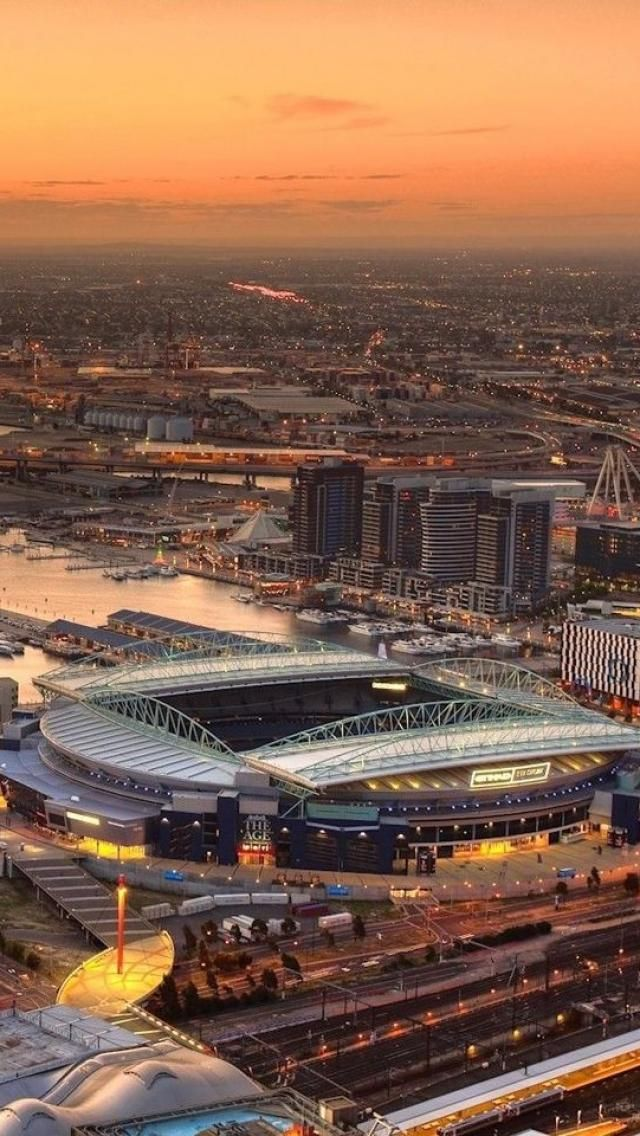 Etihad Stadium, Melbourne Home for major events and concerts