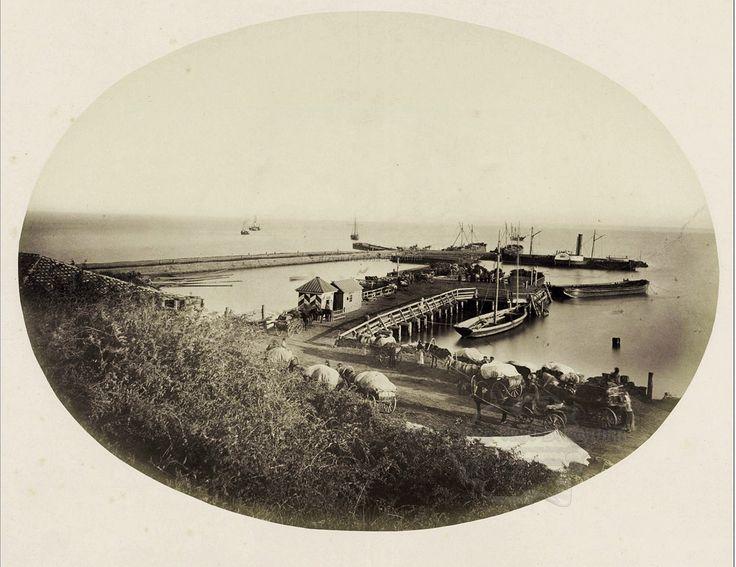 Orașul Cetatea Albă. Portul.