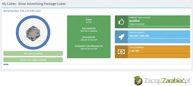 My Ad Cubes – opinie o nowym programie Revenue Sharing | http://www.zaczac-zarabiac.pl/my-ad-cubes-opinie/