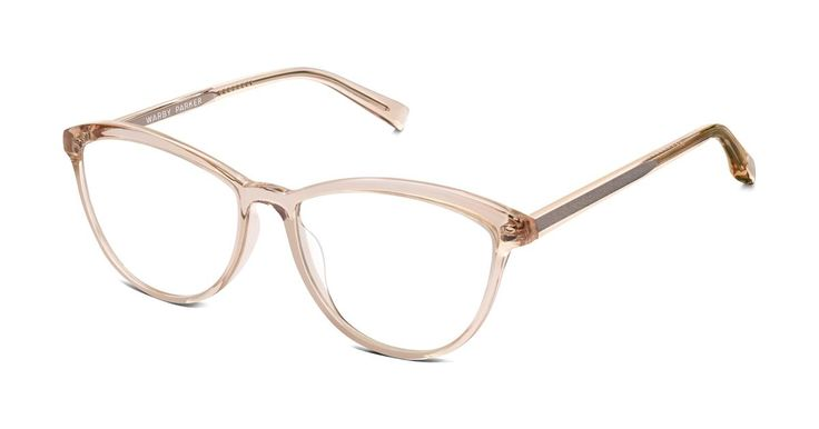 A cat-eye frame with a delicate, rounded silhouette, Louise is slightly oversized and utterly elegant.