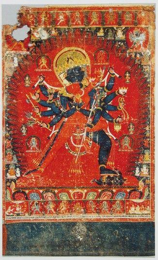 Chakrasamvara (divinité bouddhiste) - (Krishnacharin Tradition) (HimalayanArt)