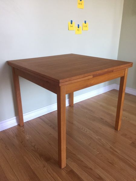 teak dining table dining tables and sets city of toronto kijiji