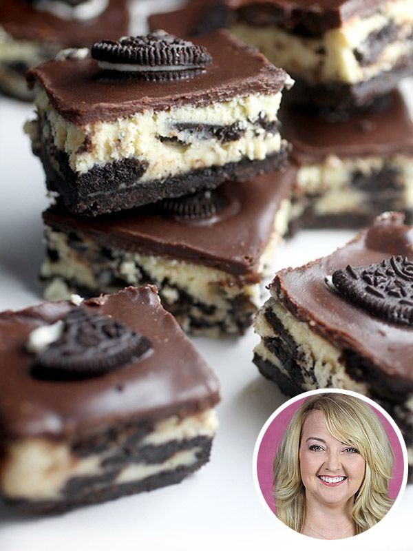 Bakerella's Cookies  Cream CheesecakeBars