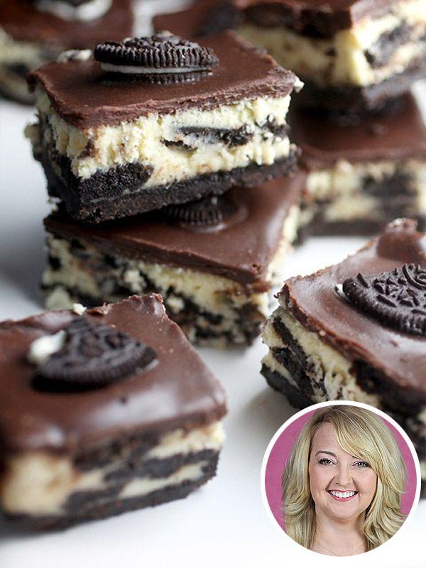 Bakerella's Cookies & Cream CheesecakeBars