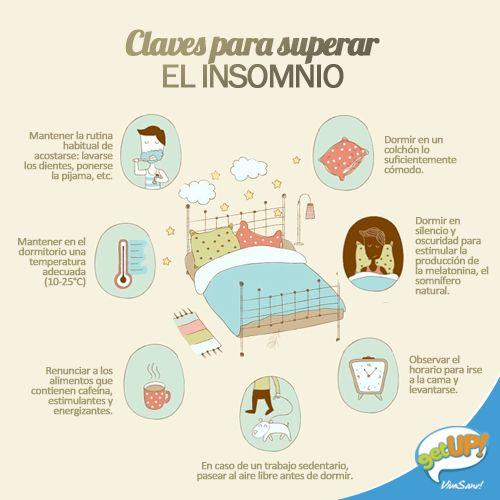 Para superar el insomnio