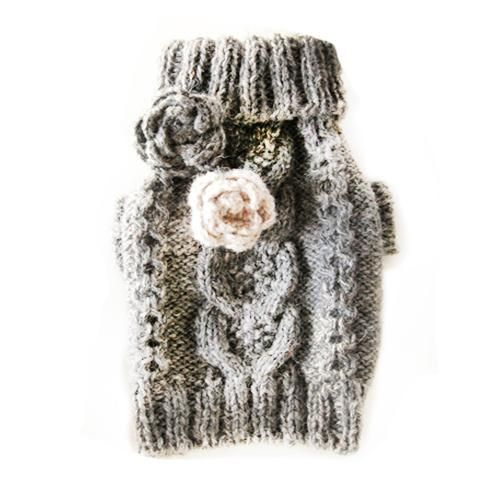 Hand knitted Dog sweater