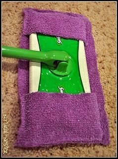 . . . . . How to Recycle: How To Recycle Old Bath Towels. Swiffer cover - not disposable