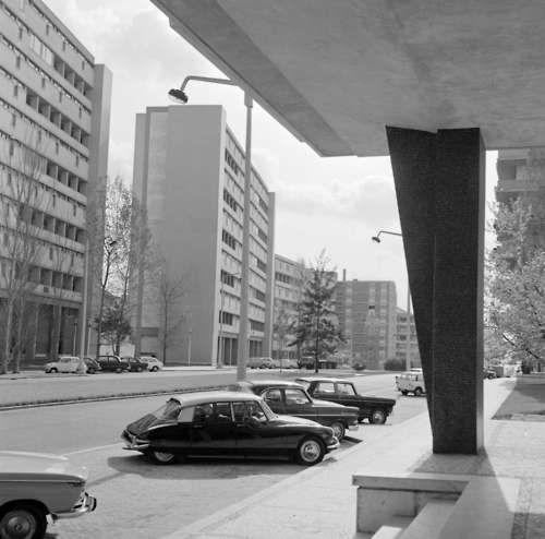 Artur Pastor_ Lisboa, avenida Estados Unidos da América, década 50/60.