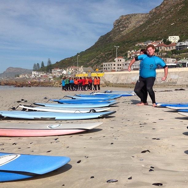Thomas Clapham School girls Learn to Surf with the crew from Surfshack supported by @billabongsa @billabonggirls_za @vonzippersouthafrica @vonzipperza #palmers#dakine - @surfshack_capetown- #webstagram