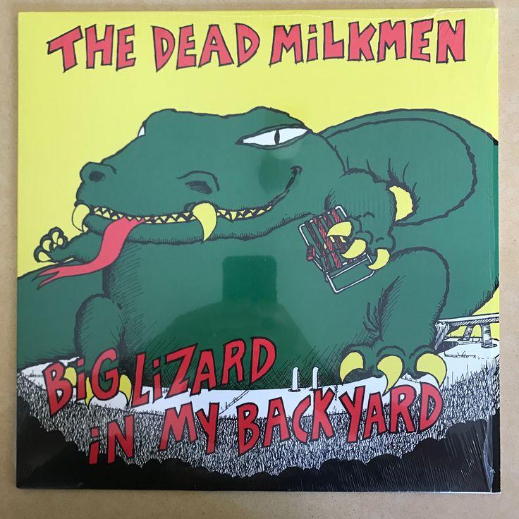 Dead Milkmen - Big Lizard In My Backyard (Used LP) - GREEN VINYL