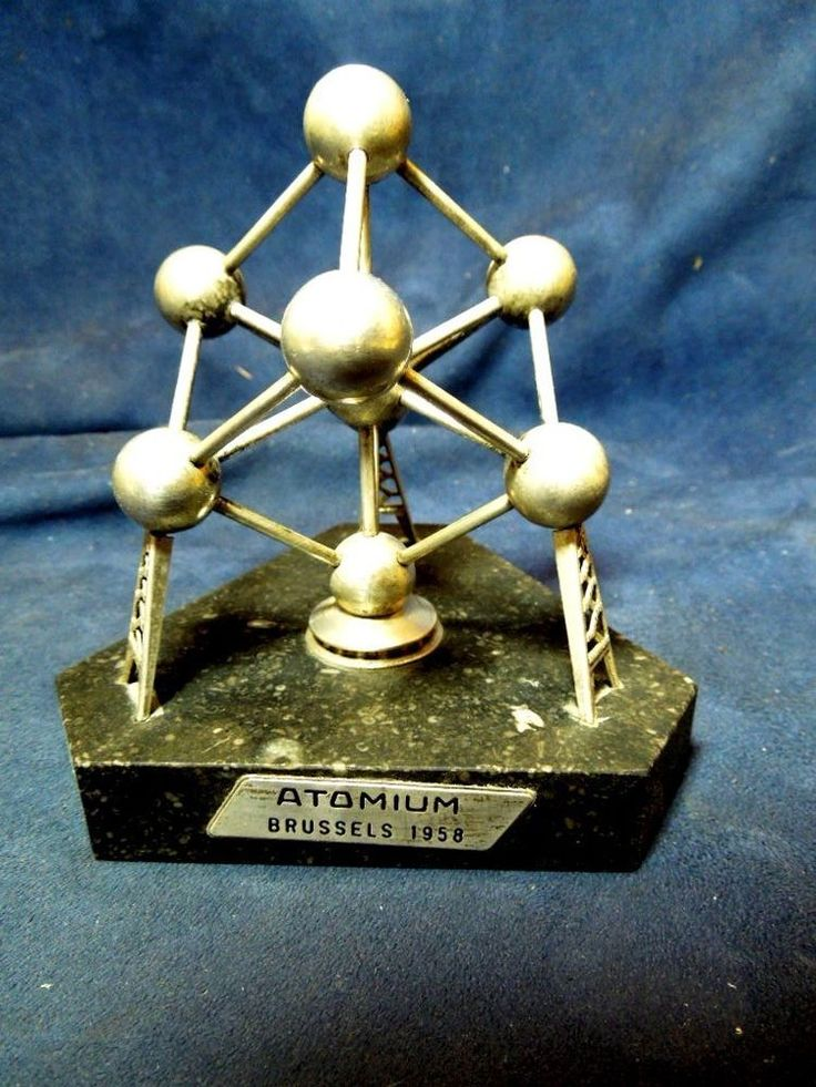 1958 BRUSSELS WORLD'S FAIR ATOMIUM SCULPTURE