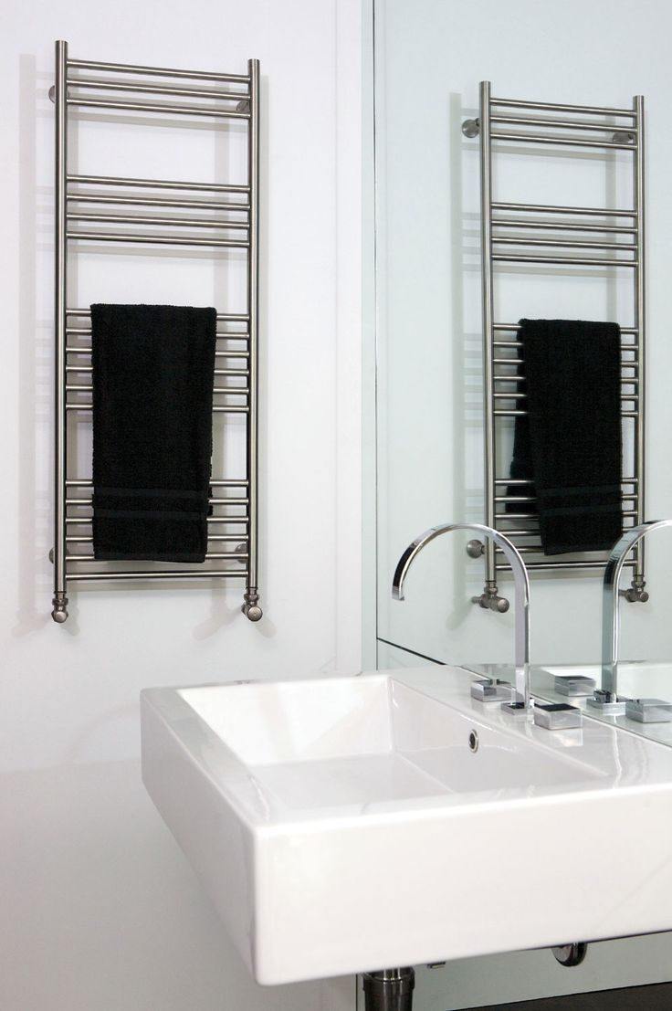Dual fuel bathroom towel radiators - Aeon Tora Stainless Steel Heated Towel Rail Available In A Brushed Or Polished Finish Central Heating Dual Fuel And Electric Only Options