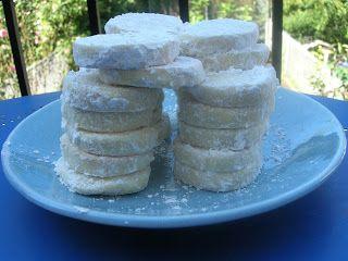 Martha's Kitchenette: Μπισκότα λεμονιού που λιώνουν στο στόμα
