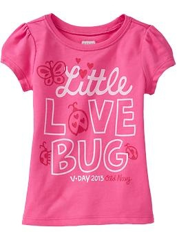 """Little Love Bug"" Tees for Baby 