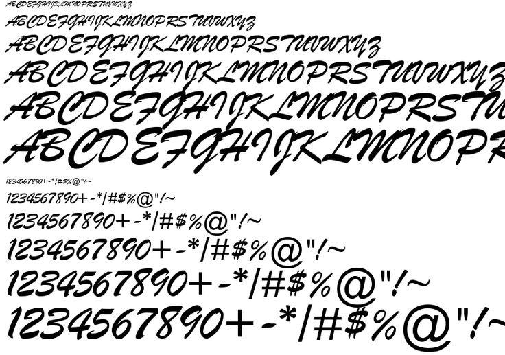 font Brush Script MT example, font Brush Script MT preview