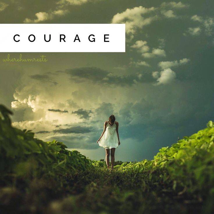 courage - sacral chakra issue