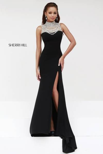 81 best Sleek Black images on Pinterest | Party wear dresses, Formal ...