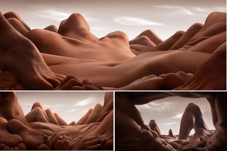 Paisajes con Desnudos