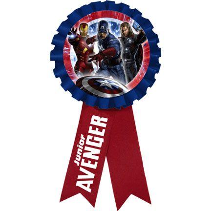 The Avengers Award Ribbon!