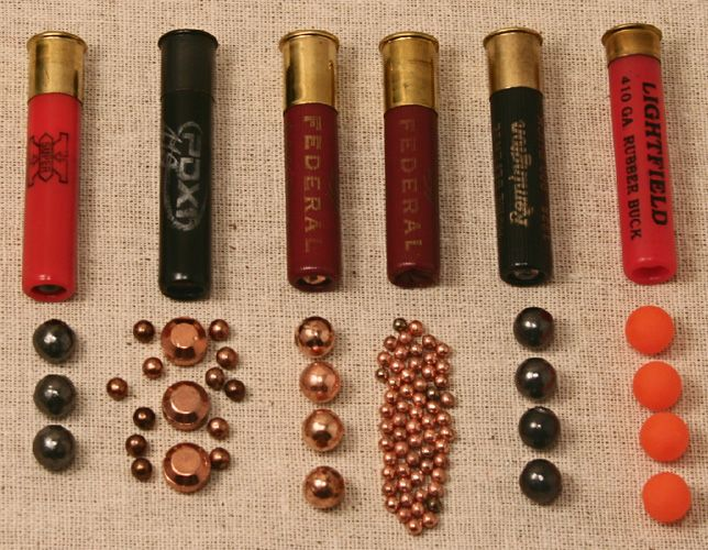 .410 shot shells comparison  There are lots of options out there, know what you're getting. Bird shot is a great way to bring in small game.