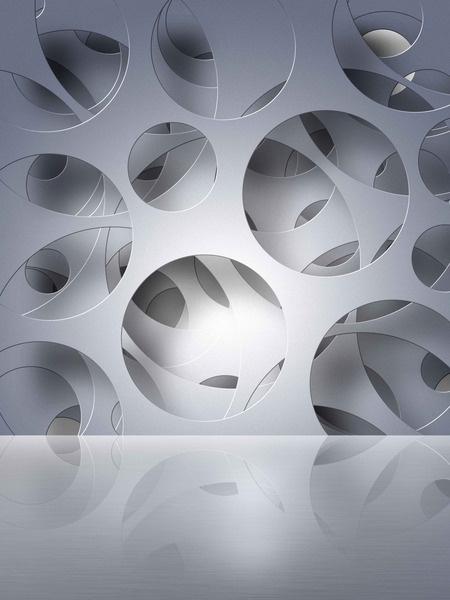 21 best Geometrics in Interior Design Murals and Custom Wallpapers - interieur design dreidimensionaler skulptur