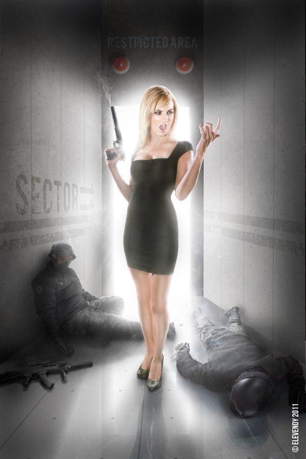 Alison Haislip - Jane Bond 008 by Dave Cox, via 500px