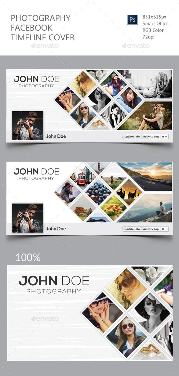Photography Facebook Timeline Cover Template PSD #design Download: http://graphicriver.net/item/photography-facebook-timeline-cover/11922338?ref=ksioks