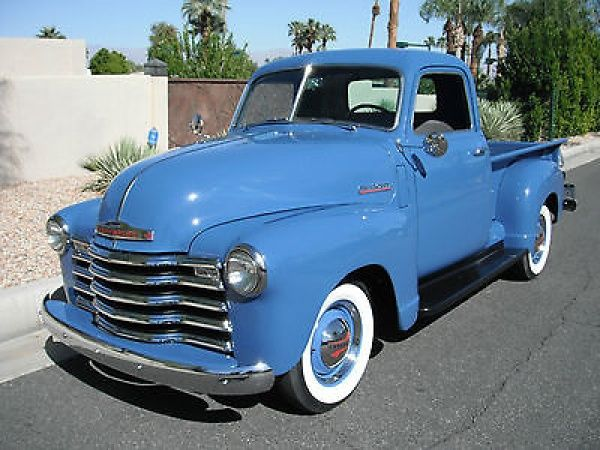 Gorgeous truck. Where would you go joy riding? 49 Chevy 3100