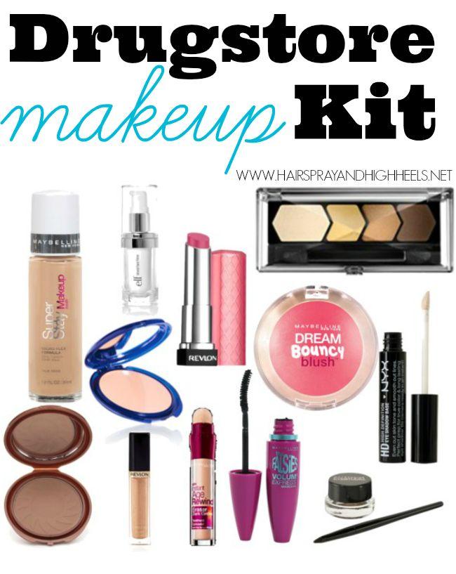 Makeup Starter Kit: Drugstore Products