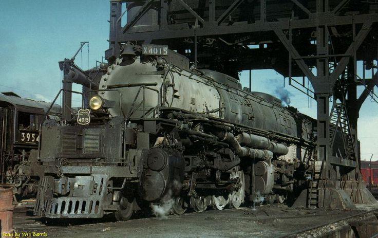 Union pacific quot big boy locomotive pokes out