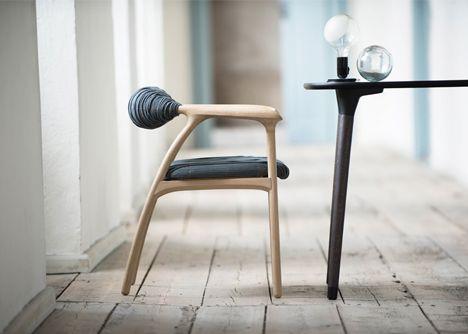 Haptic Chair by Trine Kjaer Design Studio
