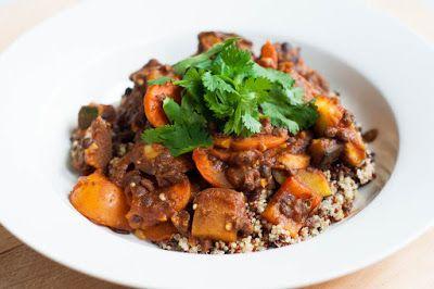 Three girls one kitchen: Marrokaanse groenteschotel met linzen en quinoa
