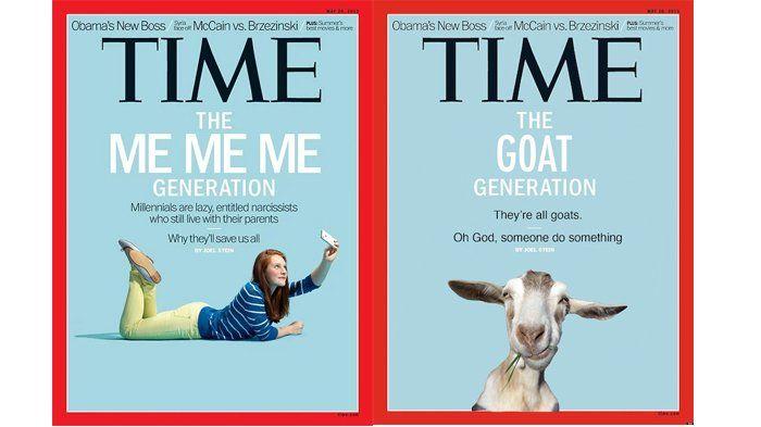 Parodi Cover TIME - Kocak! Meme Plesetan Sampul Majalah Ini yang Bahas Soal Generasi Millennials