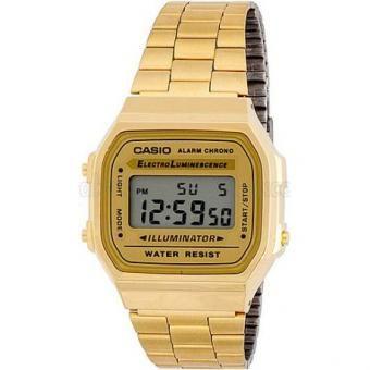 Reloj Casio Retro A-168WG-9 para Dama-Dorado. Obtén un descuento en compras de ropa de moda