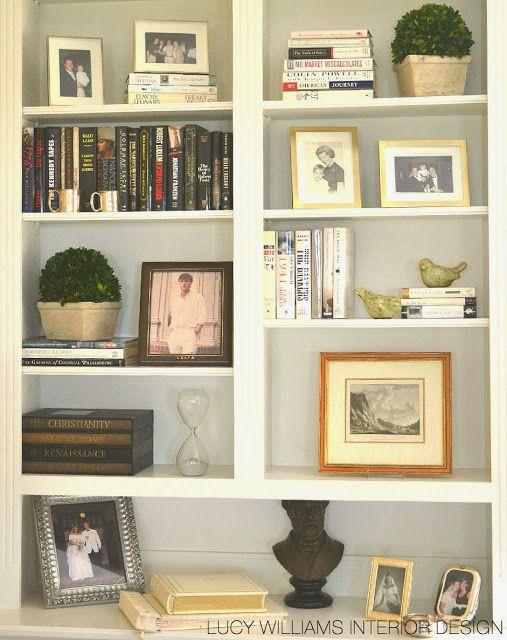 LUCY WILLIAMS INTERIOR DESIGN BLOG Bookshelf