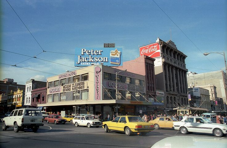 Swanston & Lonsdale Street 1985