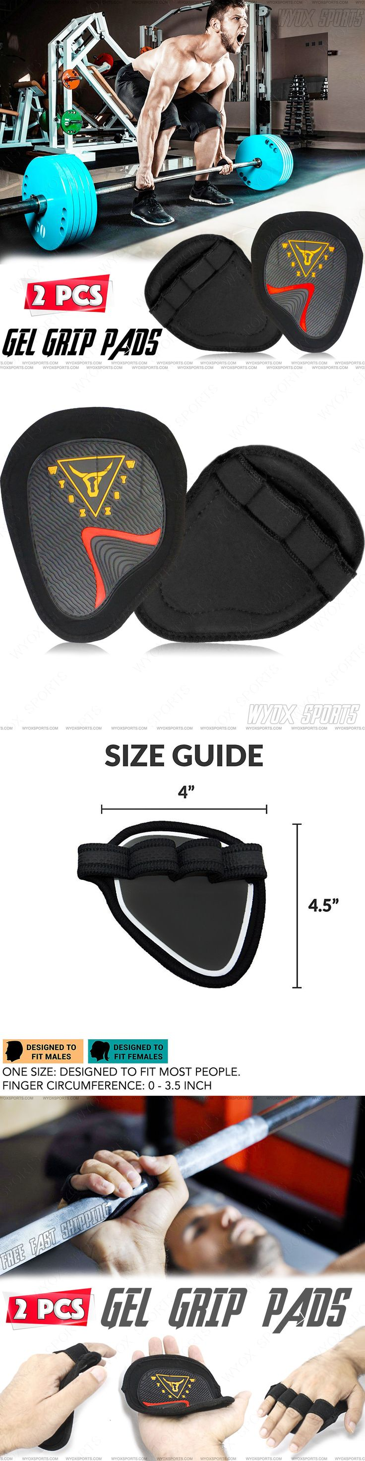 Abdominal straps crunch weight lifting door hanging gym chinning - Gloves Straps And Hooks 179820 Wyox Hand Grip Weight Lifting Pads Workout Gloves Gym Fitness