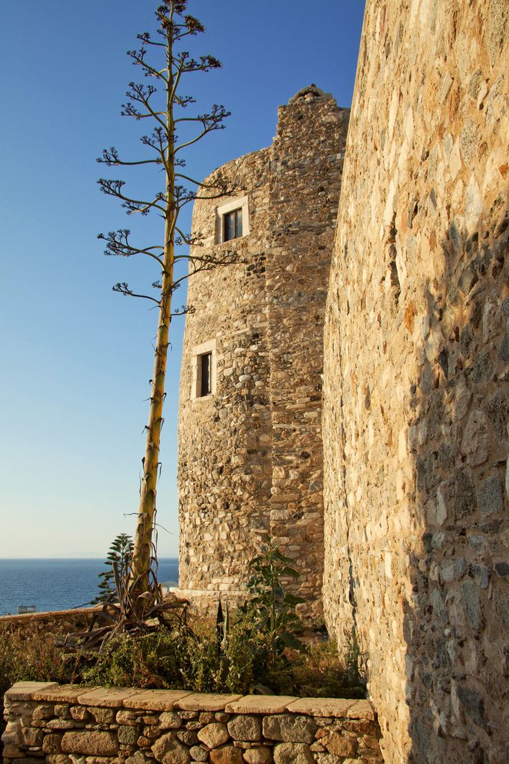 Castle of Naxos, Cyclades, Greece