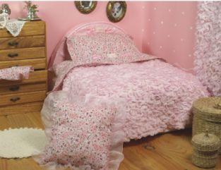 Luxury Bagur Pink Dog Bed