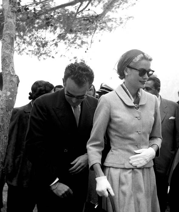 Grace Kelly Husband Prince Rainier III of Monaco May 1956